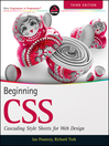 Beginning CSS (eBook): Cascading Style Sheets for Web Design